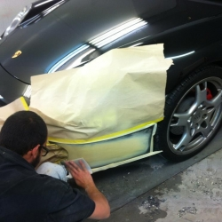 Porsche Car Bumper Repair Melbourne